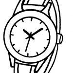 disegno-di-orologio-da-polso-orario-da-colorare